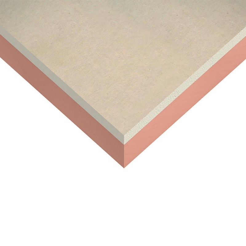 Kingspan Kooltherm K17 Insulated Plasterboard - 1.2m x 2.4m x 62.5mm