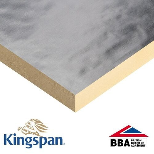 Kingspan 2400mm x 1200 x 25mm Thermaroof TR26 Flat Roof Insulation Board - 34.56m2 - 2 Pack (12 sheets)
