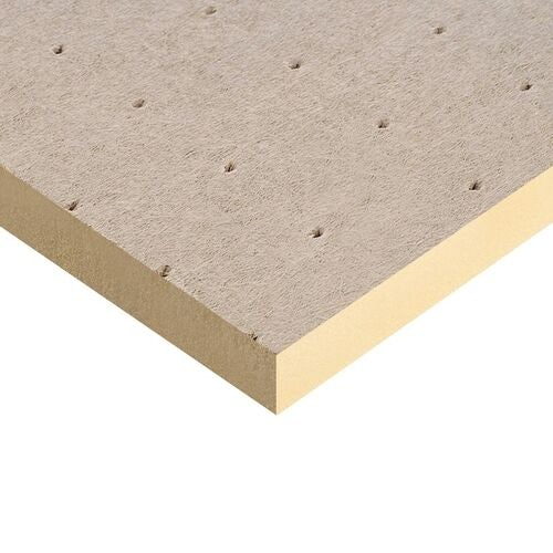 Kingspan 80mm Thermaroof TR27 Flat Roof Insulation - 1200mm x 1200mm x 80mm (4 sheets)
