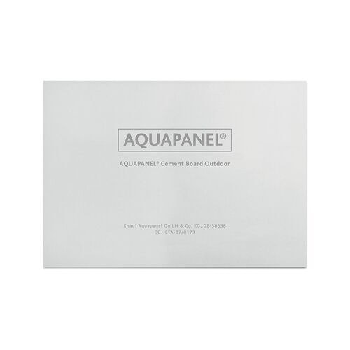 Knauf Aquapanel Exterior Cement Board - 1200mm x 900mm x 12.5mm