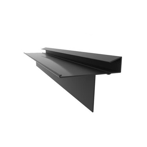 Kytun PVC Dry Verge for Man-Made Slate - 4 Pack