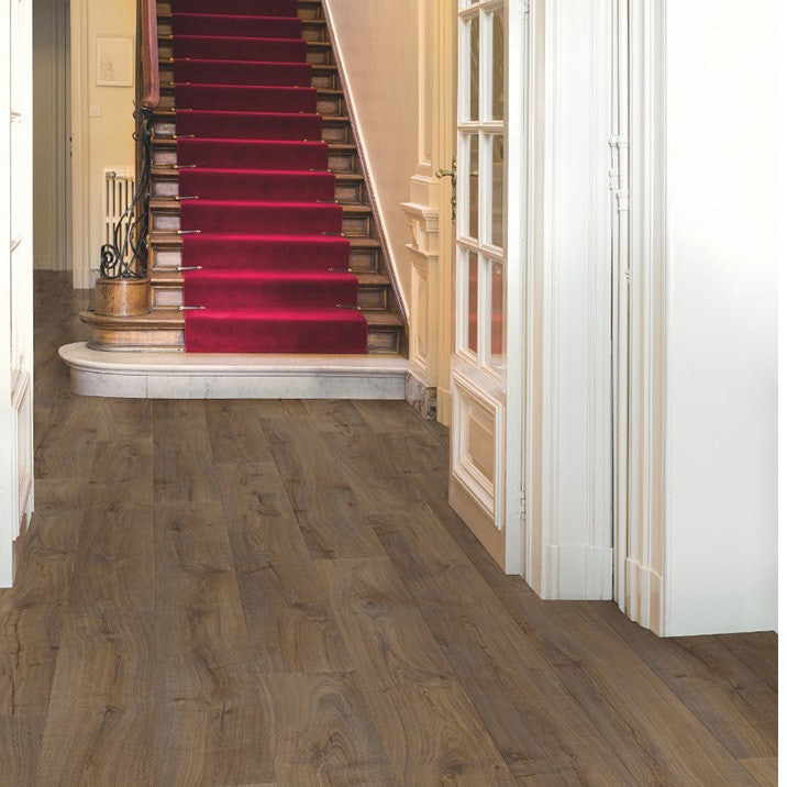 Quick-Step Largo Oak Laminate Flooring Cambridge Dark Oak