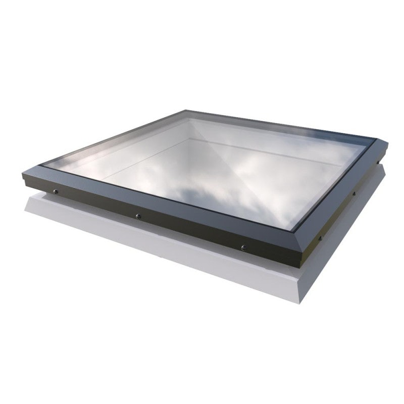 Mardome Glass Manual Opening Rooflight on Builders Upstand