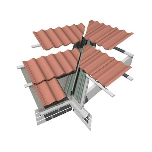 Marley Low Profile Universal GRP Dry Valley 70mm - 3m Length