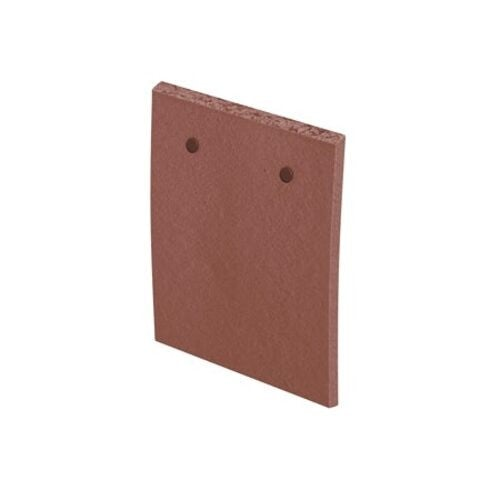 Marley Clay Plain Acme Single Camber Eaves Tile - Red Smooth