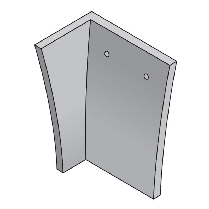 Marley Concrete Plain Internal Angle Roof Tile