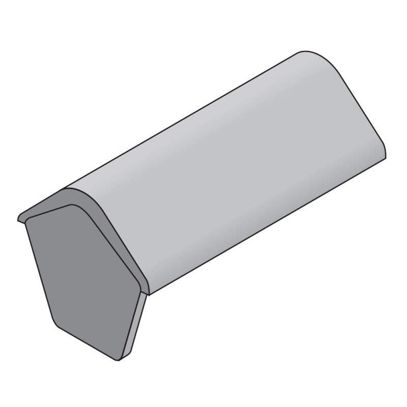 Marley Concrete 90 Degree Angle Stop End