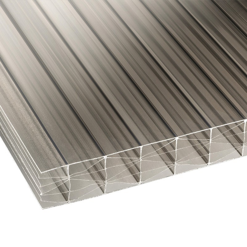 Marlon 25mm Bronze Sevenwall Polycarbonate Roof Sheet