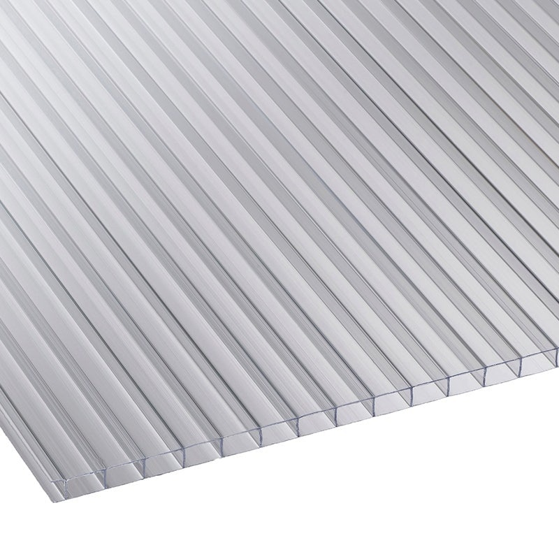 Marlon 6mm Clear Twinwall Polycarbonate Sheet