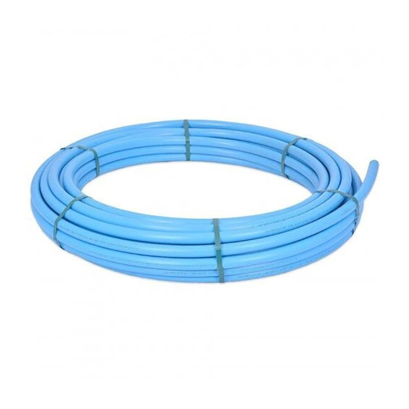 MDPE Blue Plastic Pipe Coil Mains Water Supply (Alkathene) - 25mm x 100m