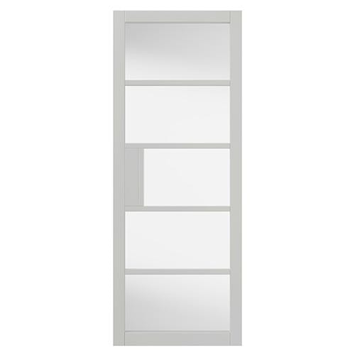 JB Kind Urban Industrial Internal Clear Glazed Metro Door