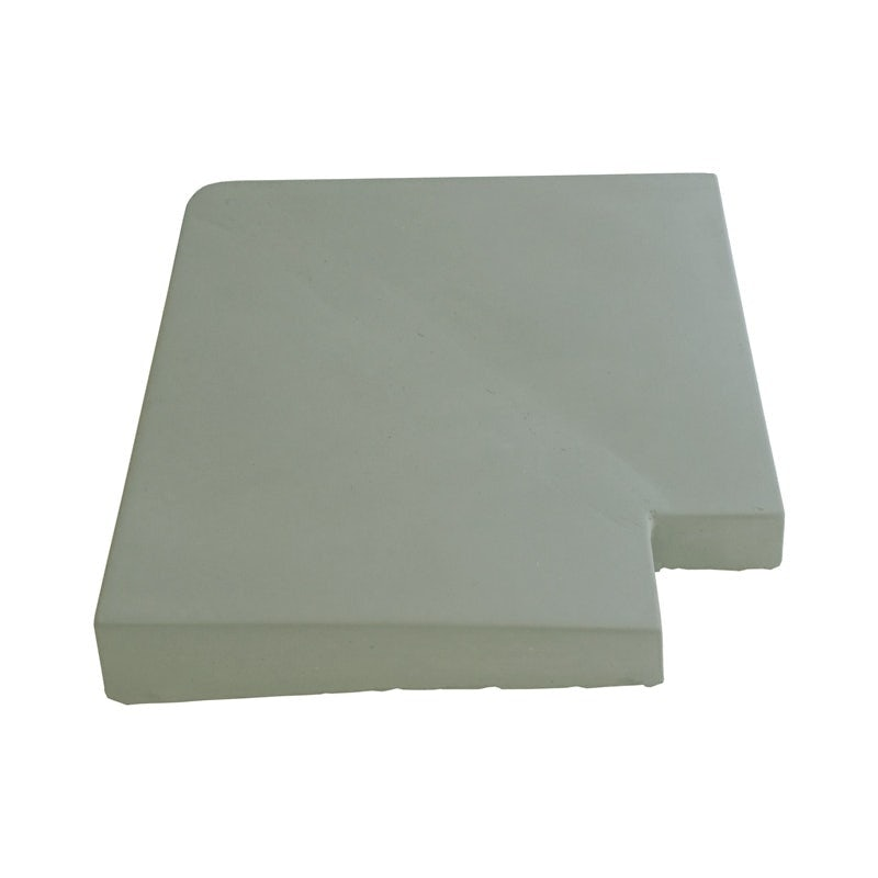 Eurodec 35-55mm Once Weathered Interior Concrete Coping Stone Return