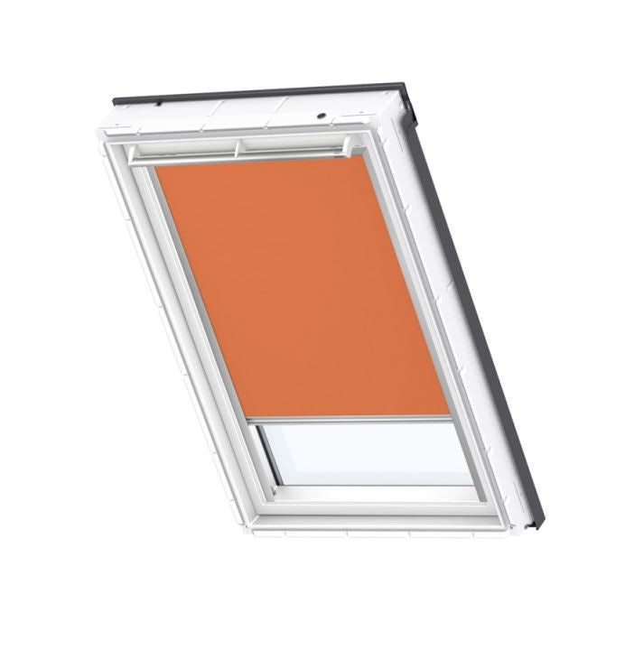 VELUX Blackout Blind in Orange