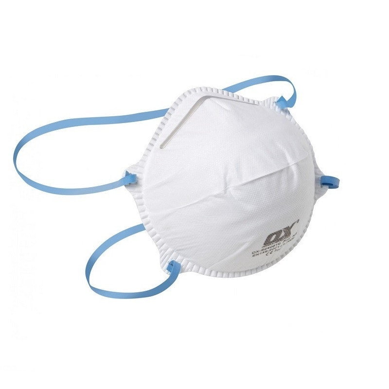 OX FFP2 Moulded Cup Respirator - Pack of 2