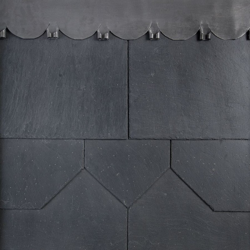 Passaro SS05F First Quality Spanish Natural Slate Roof Tile in Blue/Grey