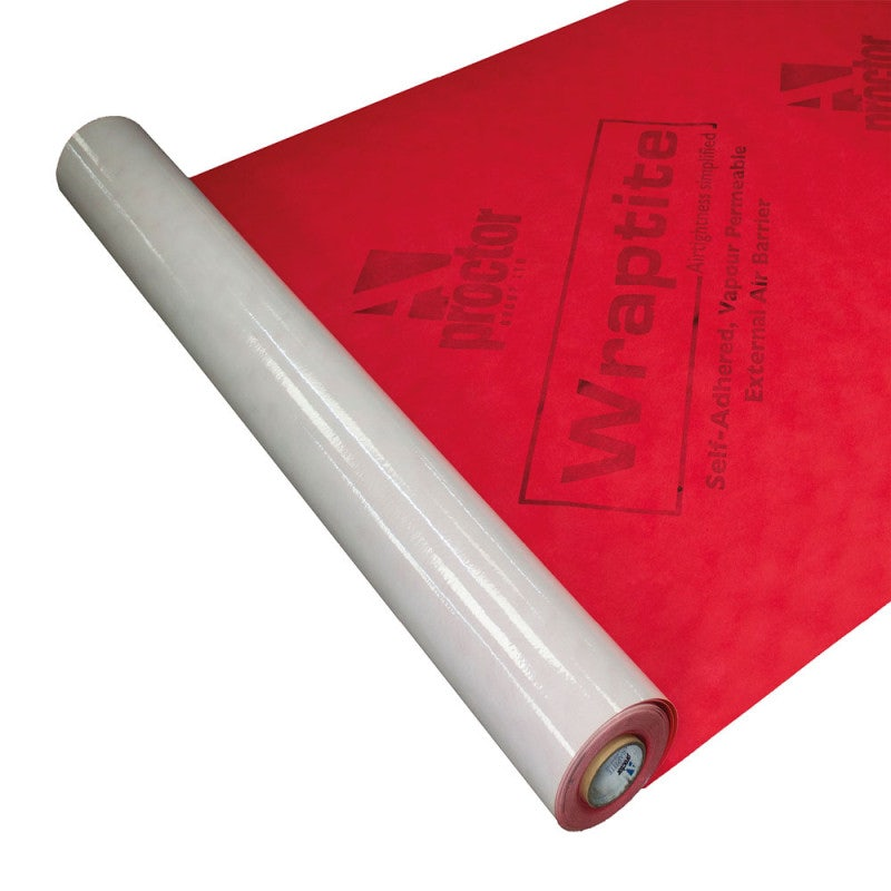 Wraptite External Air Tightness Barrier Membrane - 50m x 1.5m Roll