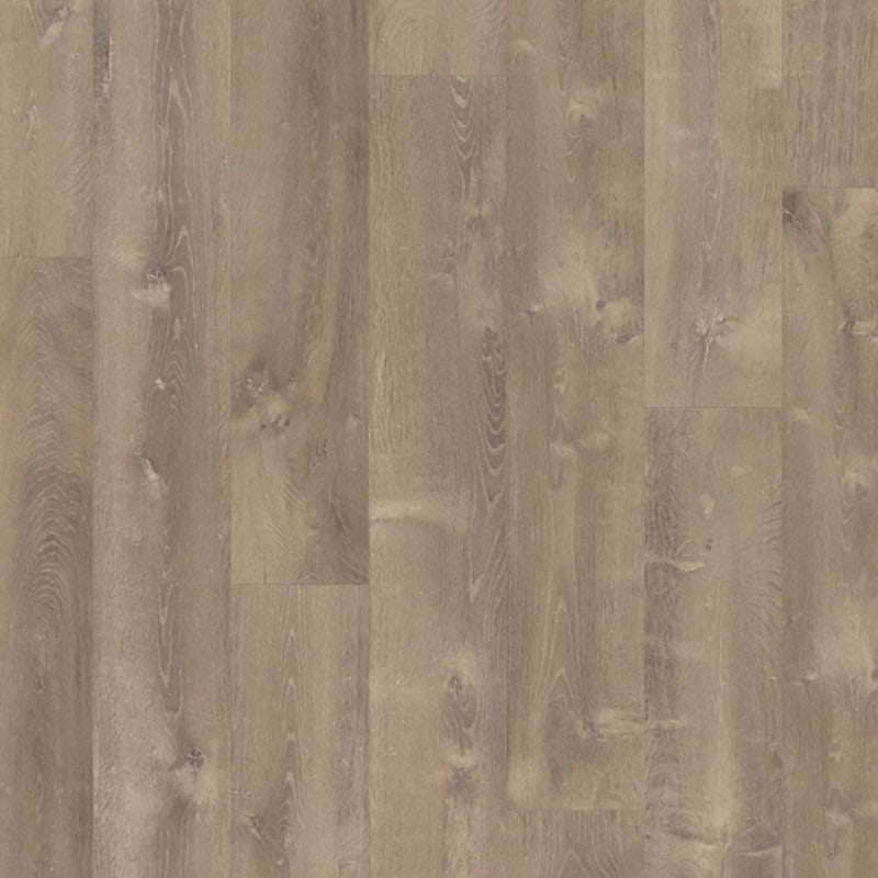 Quick-Step Vinyl Pulse Click LVT Plank Sand Storm Oak Brown