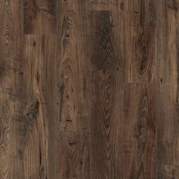Quick-Step Perspective Wide Chestnut Laminate Flooring 4 Bevel Reclaimed Brown Chestnut
