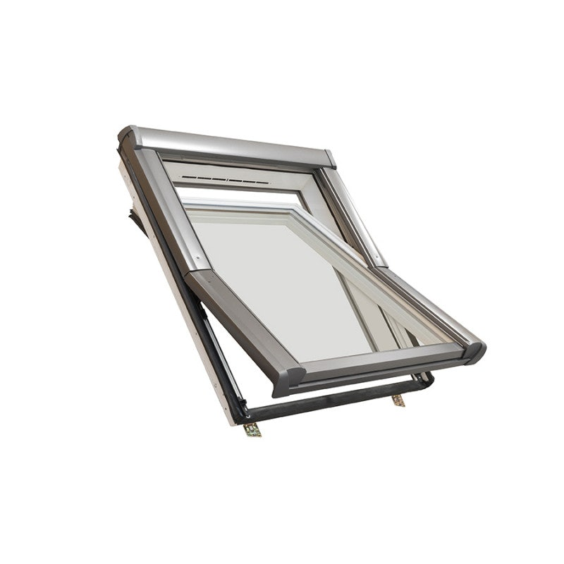 Easy-trim Roto ETR4 Double Glazed Centre Pivot PVC Roof Window