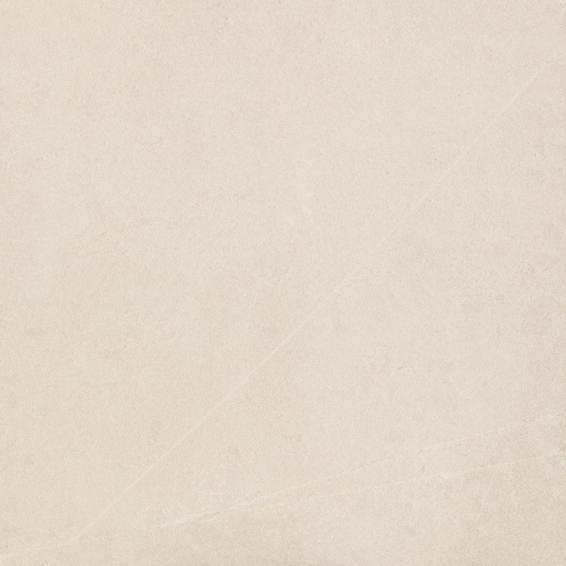 RAK Ceramics Shine Stone Ivory Matte Porcelain Wall & Floor Tile 600 x 600mm