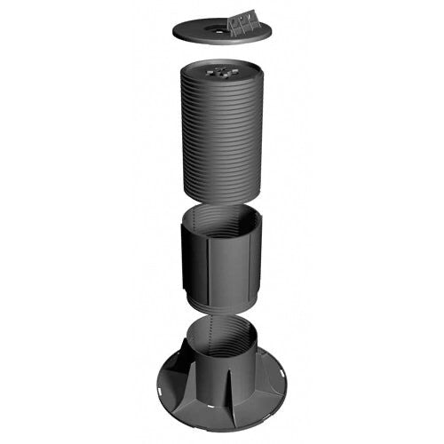 RynoDeckSupport RDF-3 55-95mm Fixed-Head Adjustable Decking Pedestal
