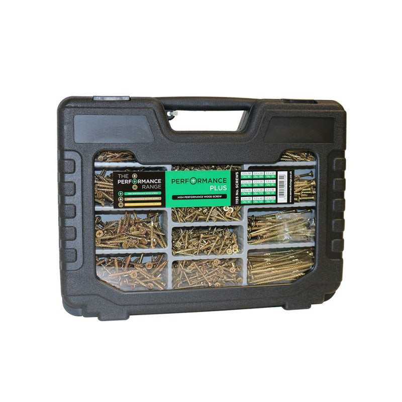 Samac Performance Plus Woodscrews Trade Case