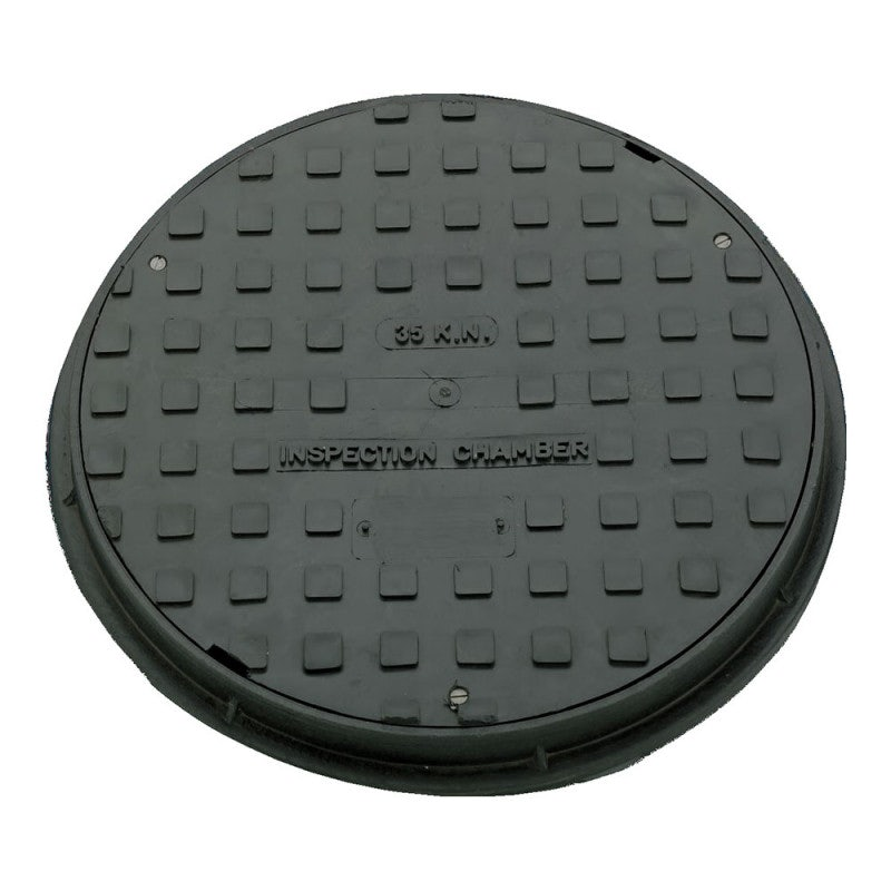 Silt Sentinel 300 Series Lockable Circular Access Cover - 35kN Loading