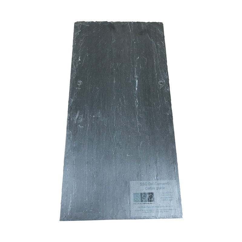 SSQ Del Carmen Celtas-Grade Spanish Slate Roof Tile in Blue/Black