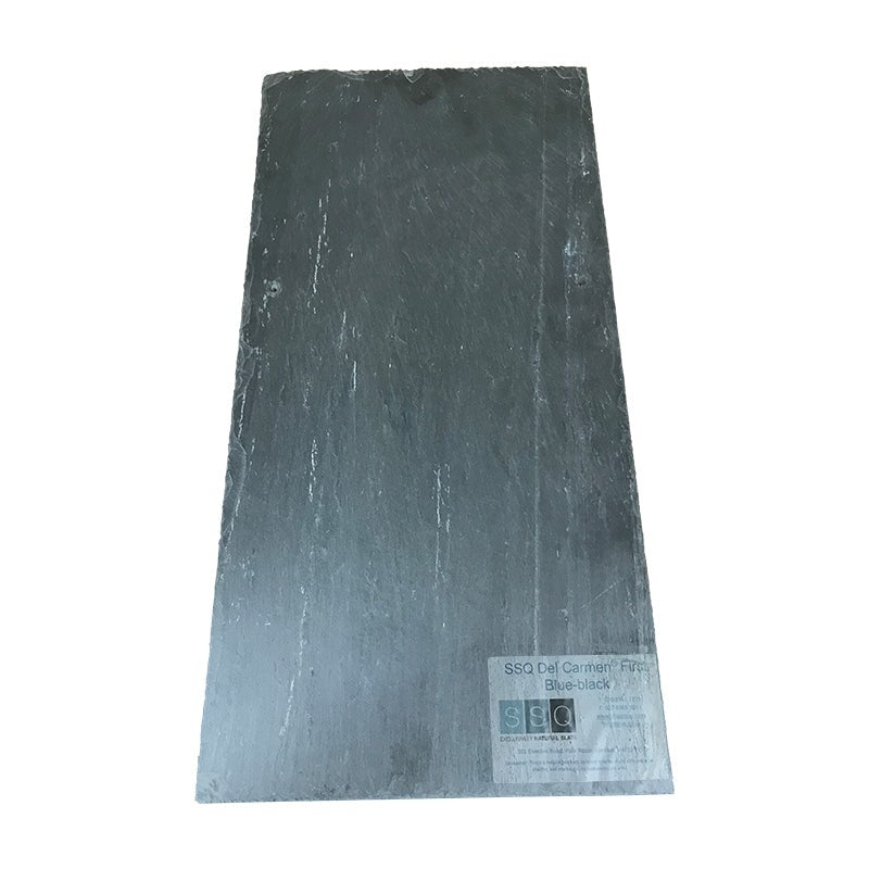 SSQ Del Carmen First-Grade Spanish Slate Roof Tile in Blue/Black