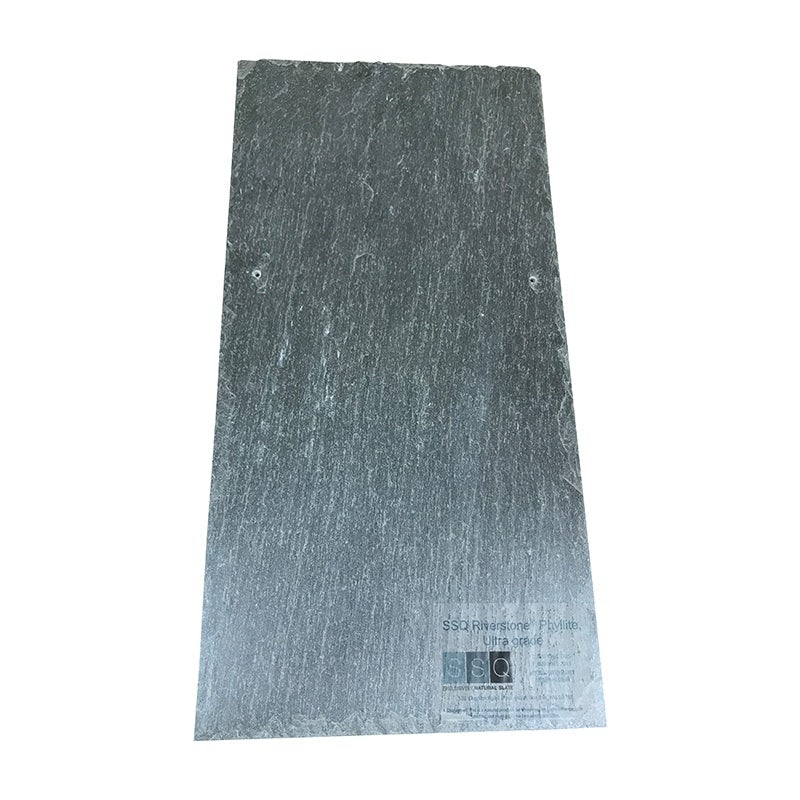 SSQ Riverstone First Grade Argentinian Slate Roof Tile in Medium Grey