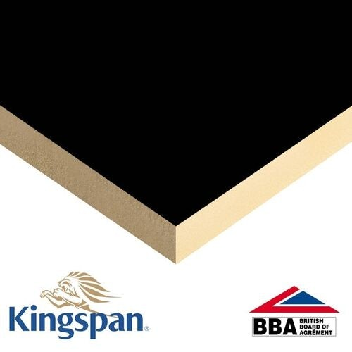 Kingspan 130mm Thermaroof TR24 Flat Roof Insulation - 2.16m2 Pack