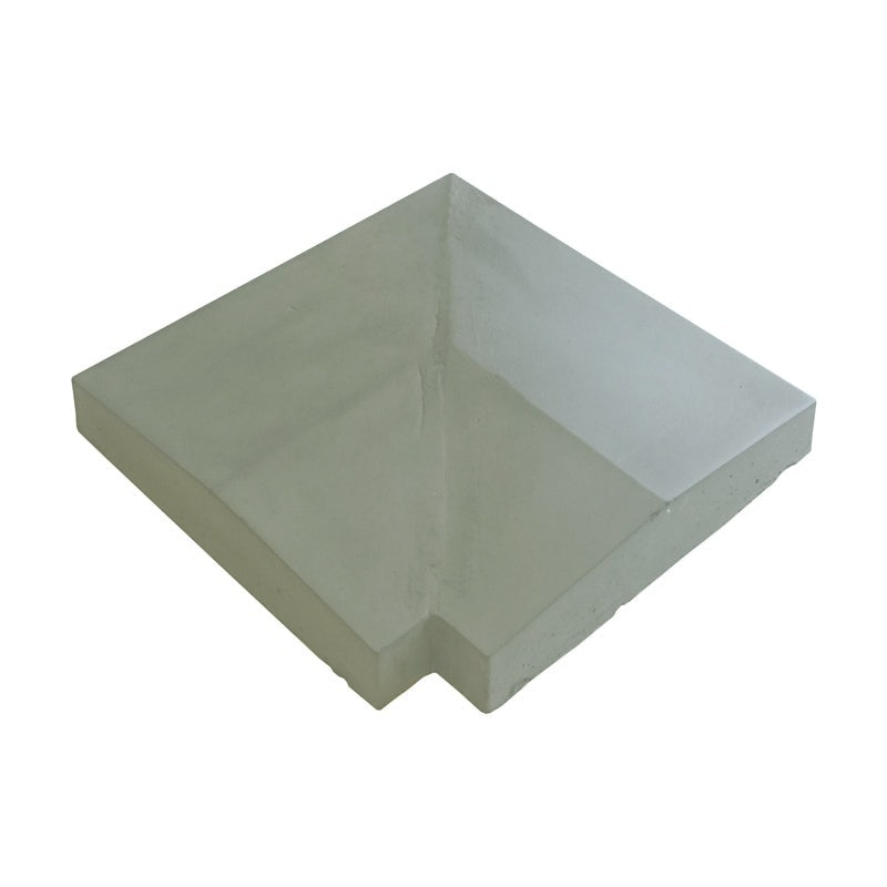 Eurodec 35-50mm Twice Weathered Concrete Coping Stone Return