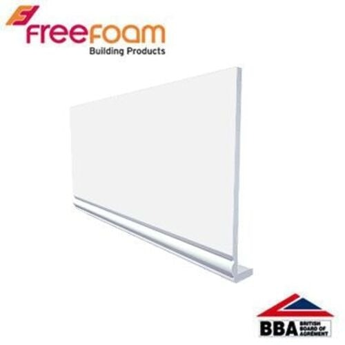 uPVC 175mm Replacement Fascia Board (18mm Ogee Profile) 5m - White