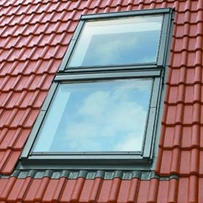 VELUX EKW S0122 Duo up to 120mm Tile Flashing