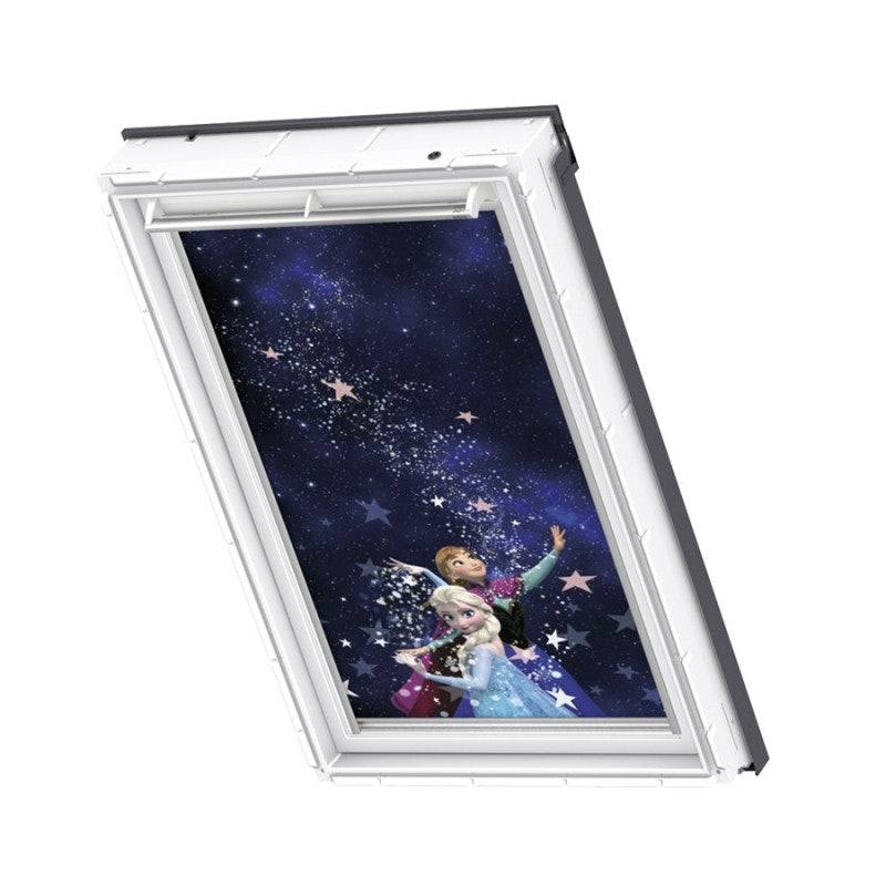 VELUX & Disney Manual Blackout Blind in Frozen Anna & Elsa