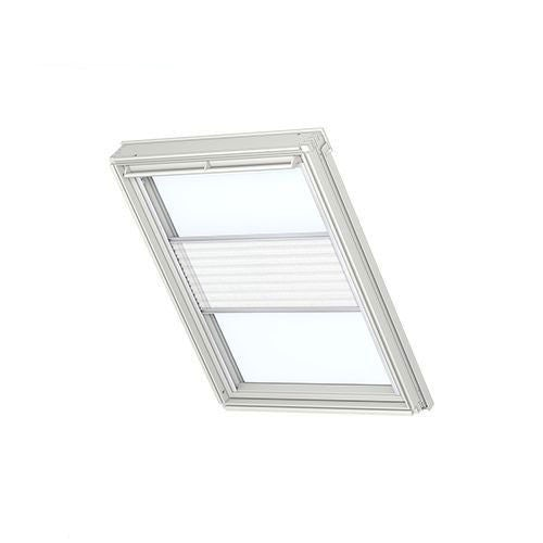 VELUX Manual Pleated Blind FHL PK08 1016 - White