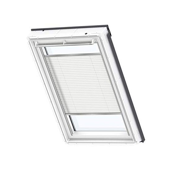 VELUX Pleated Blind in White
