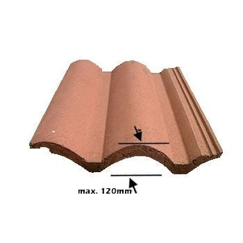 VELUX EDW 2000 Standard up to 120mm Tile Flashing