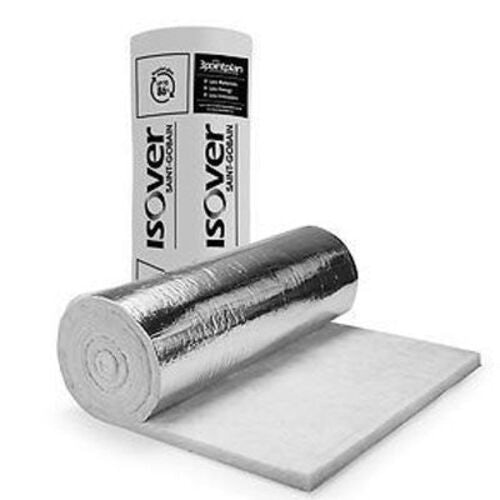 Ventilation 50mm Isover Ductwrap Wool Insulation Roll 1.2 x 13m