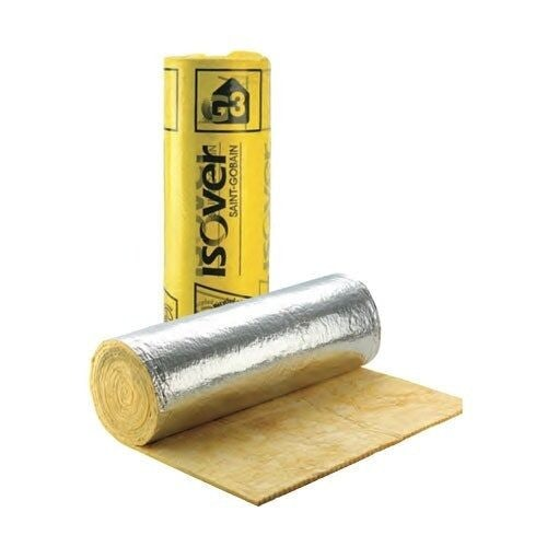 Ventilation 25mm Isover Ductwrap Wool Insulation Roll 1.2 x 13m