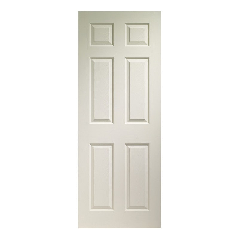 XL Joinery White Moulded Colonist 6 Panel Internal Fire Door