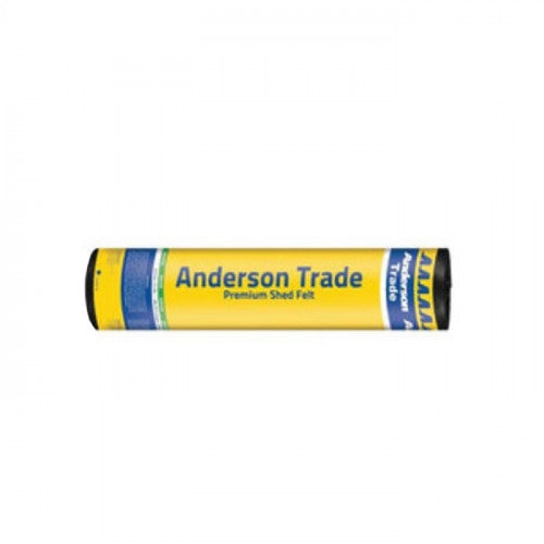 Anderson Trade Xtra-Gard Premium Shed Felt Roll in Green - 8m x 1m