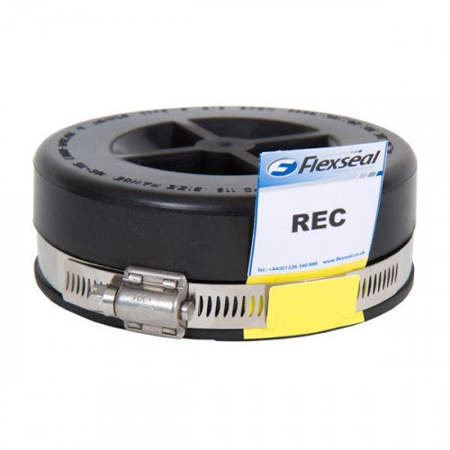 Flexseal 100mm to 115mm Rubber Flexible Drainage Drain Pipe Coupling