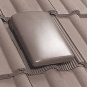 Klober Universal Tile Vent with Cap (15000mm2) - Grey