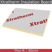 Xtratherm Pitched Roof Insulation Board - 2400mm x 1200mm x 40mm