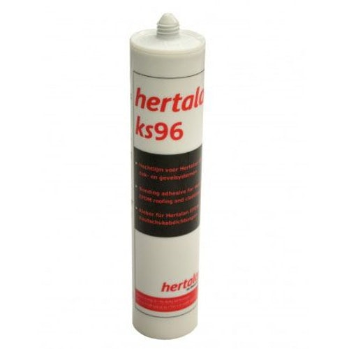 Hertalan EPDM Rubber KS96 Adhesive Sealant - 290ml Cartridge Tube