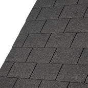 IKO Armourglass Plus Square Butt Felt Roof Shingles (Black) - 2m2 Pack