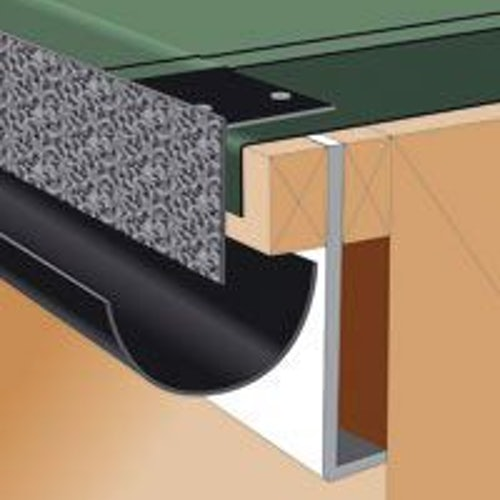 Rapid Fit Drip Edge Former For Flat Roofs 4 88m Pack