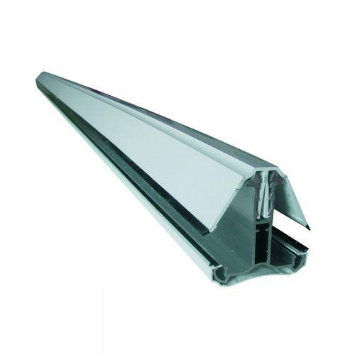 Self Supporting Polycarbonate System Intermediate Bar (2.5m) - White