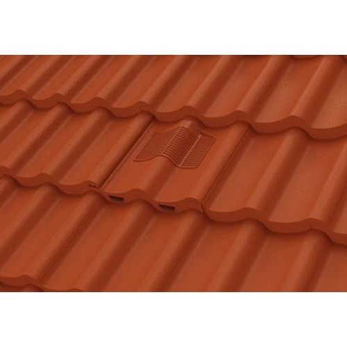 Manthorpe Double Pantile In-line Roof Tile Vent - Terracotta
